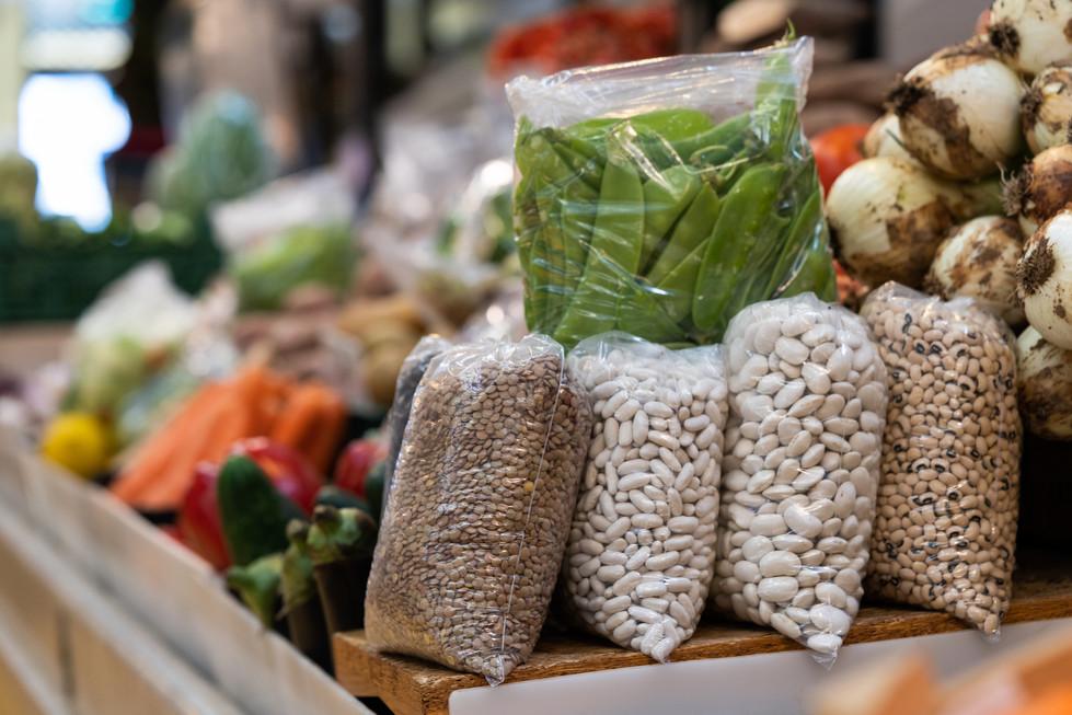 Leguminosas no mercado