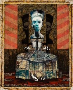 """Shadow Throne, 2007, 36""""x 54"""""""