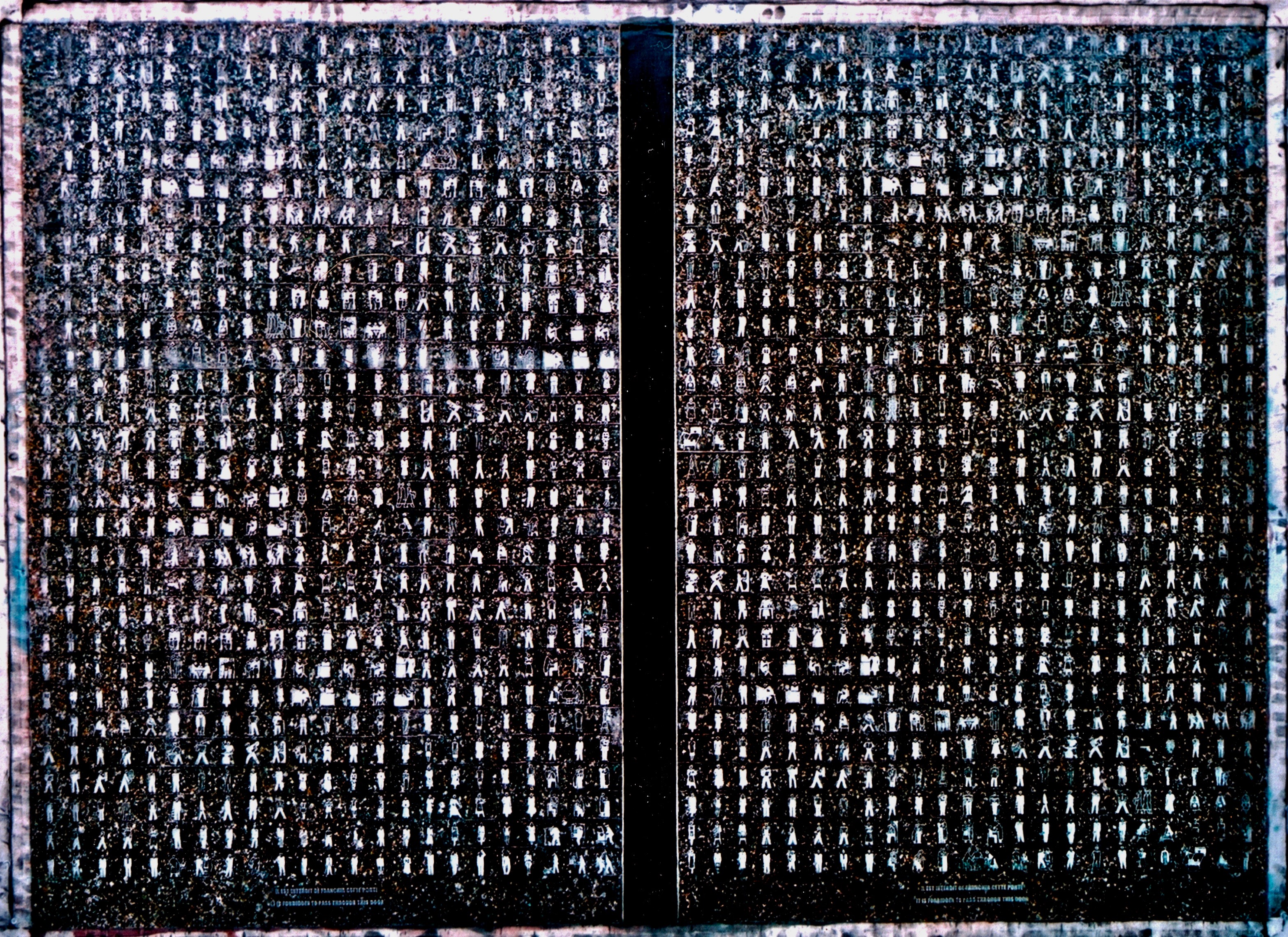 "Laurel Gate 52""x 68"" 2003"
