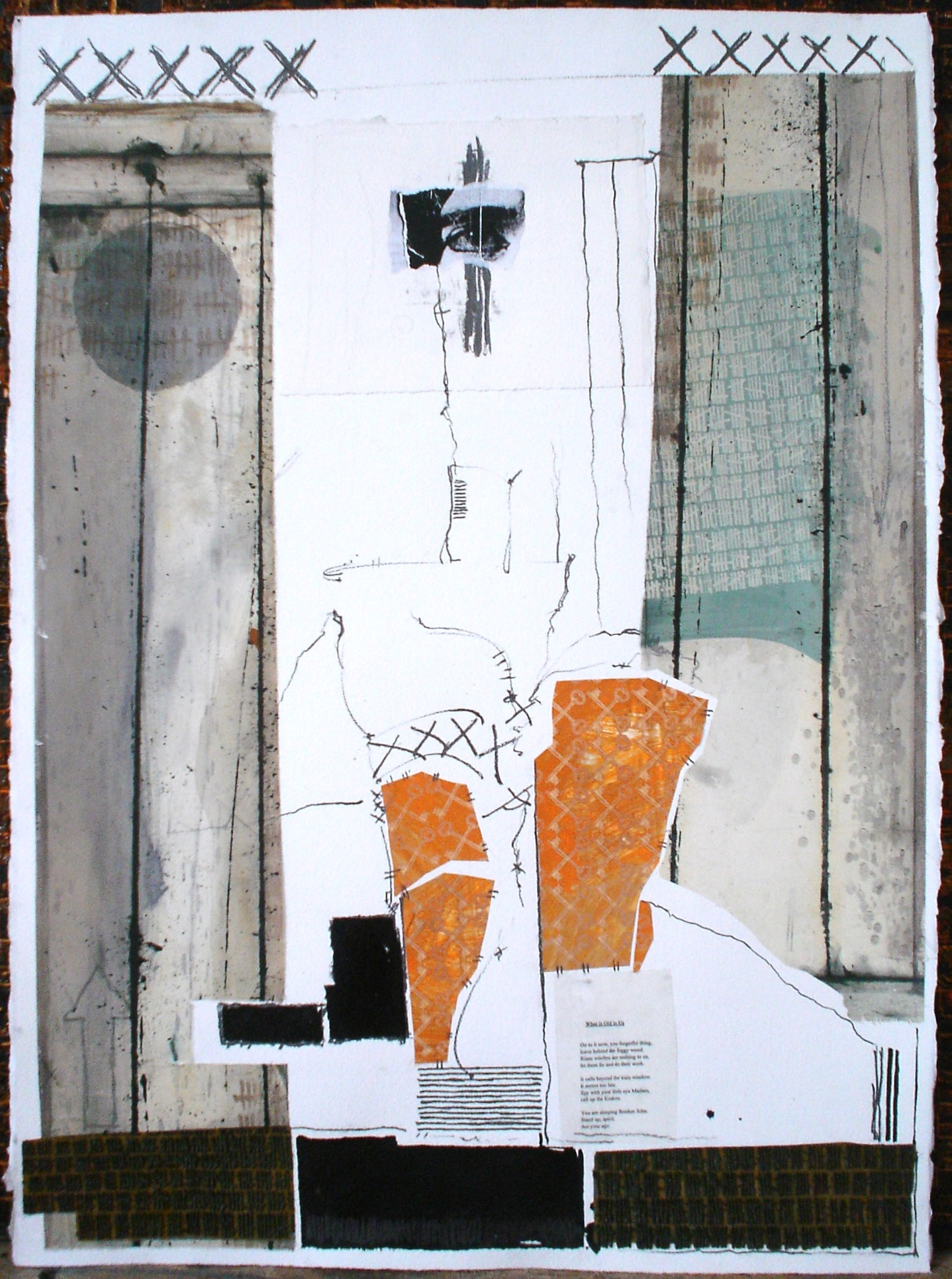 "What is Old in Us, 2009, 24""x 32"""