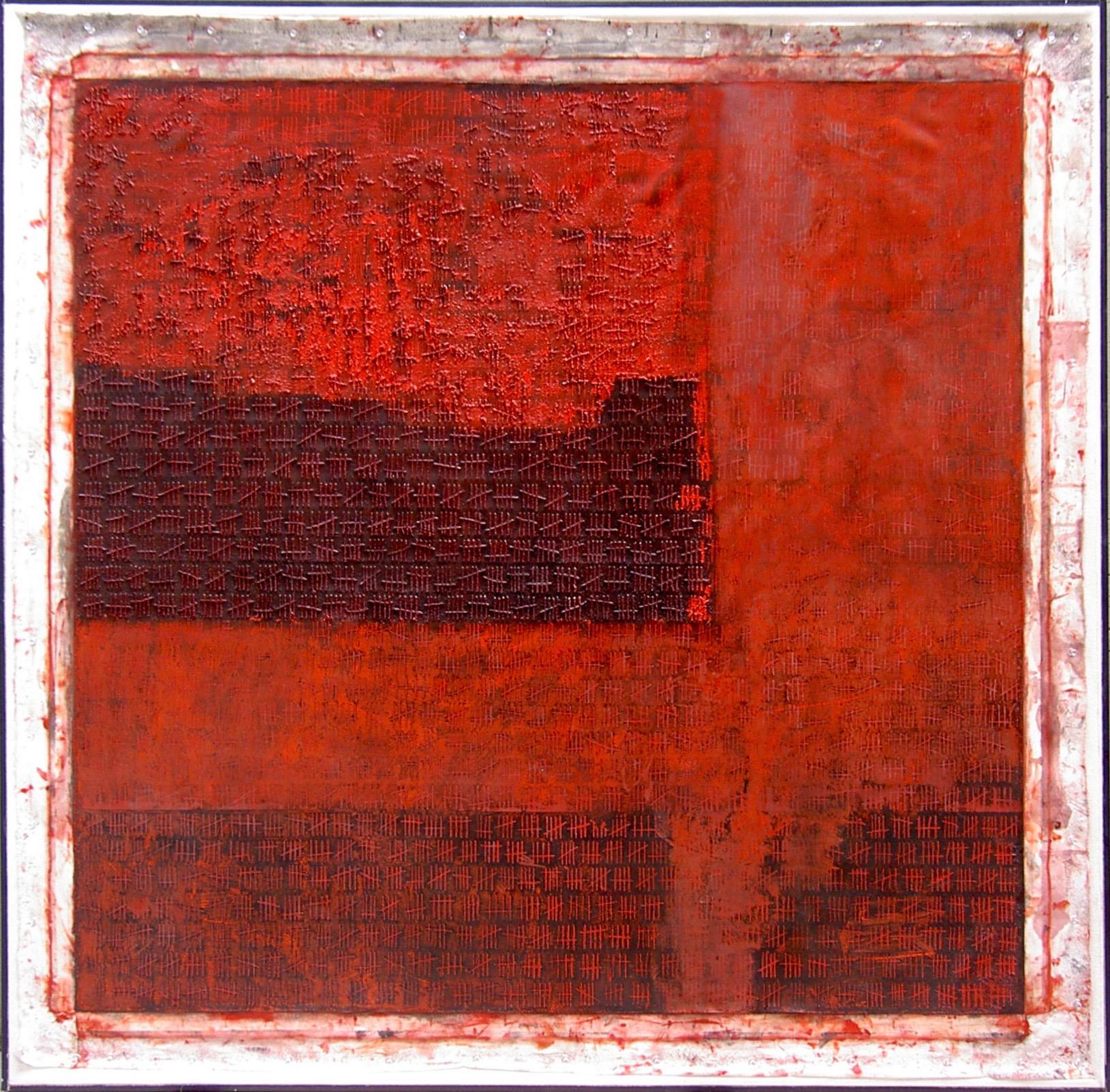 """Fingerspitzengefühl, 2002, 48""""x 48"""""""
