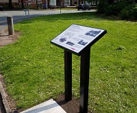New History Board for Monton Green