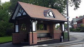 Veterans' Shelter on Monton Green damaged............AGAIN and AGAIN and AGAIN!!