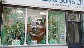 Come see the Christmas Windows on Monton High Street