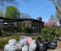 MVCA's First Community Litter Pick  -  a great success.