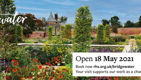 RHS Garden Bridgewater  Opens 18th May 2021