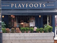 Playfoots - a new delicatessen and takeaway service on offer