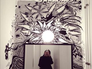 Wall drawing @Malsaal Hamburg