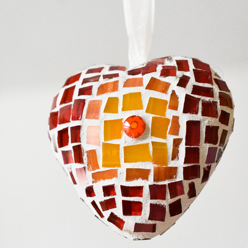 heart orange front
