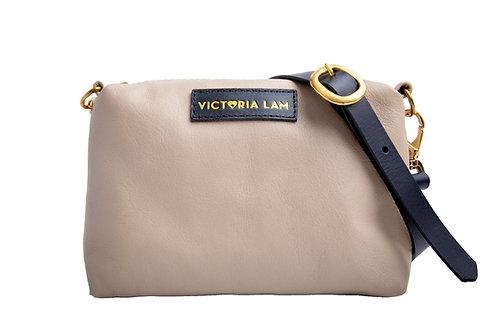 Cosa mini shoulder bag beige