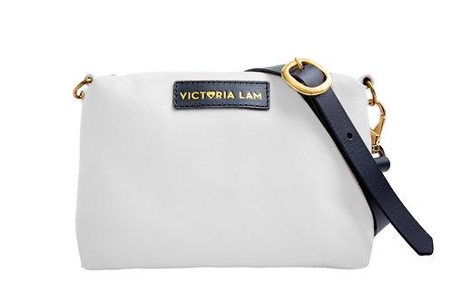 Cosa mini shoulder bag white