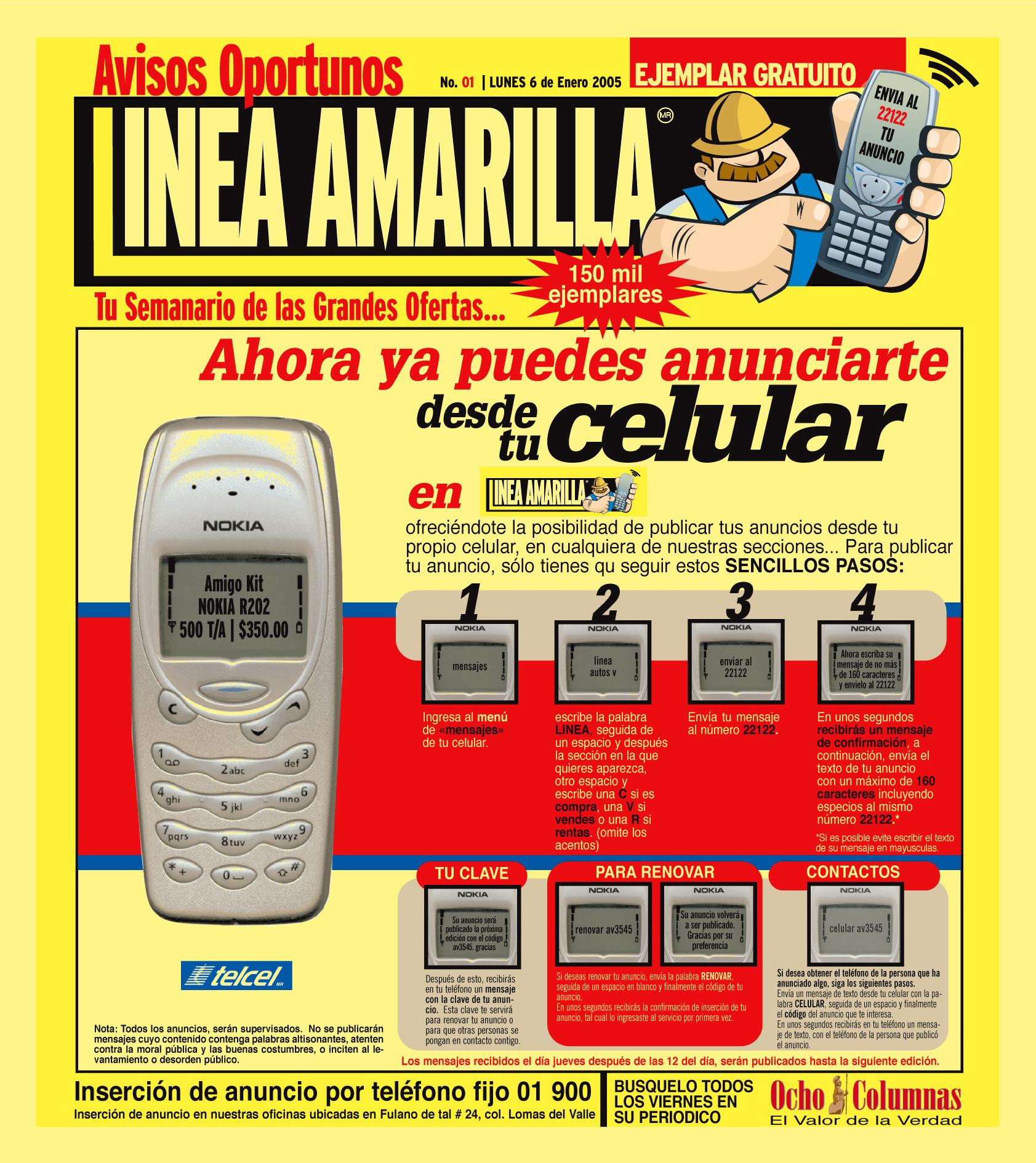 SEMANARIO LINEA AMARILLA