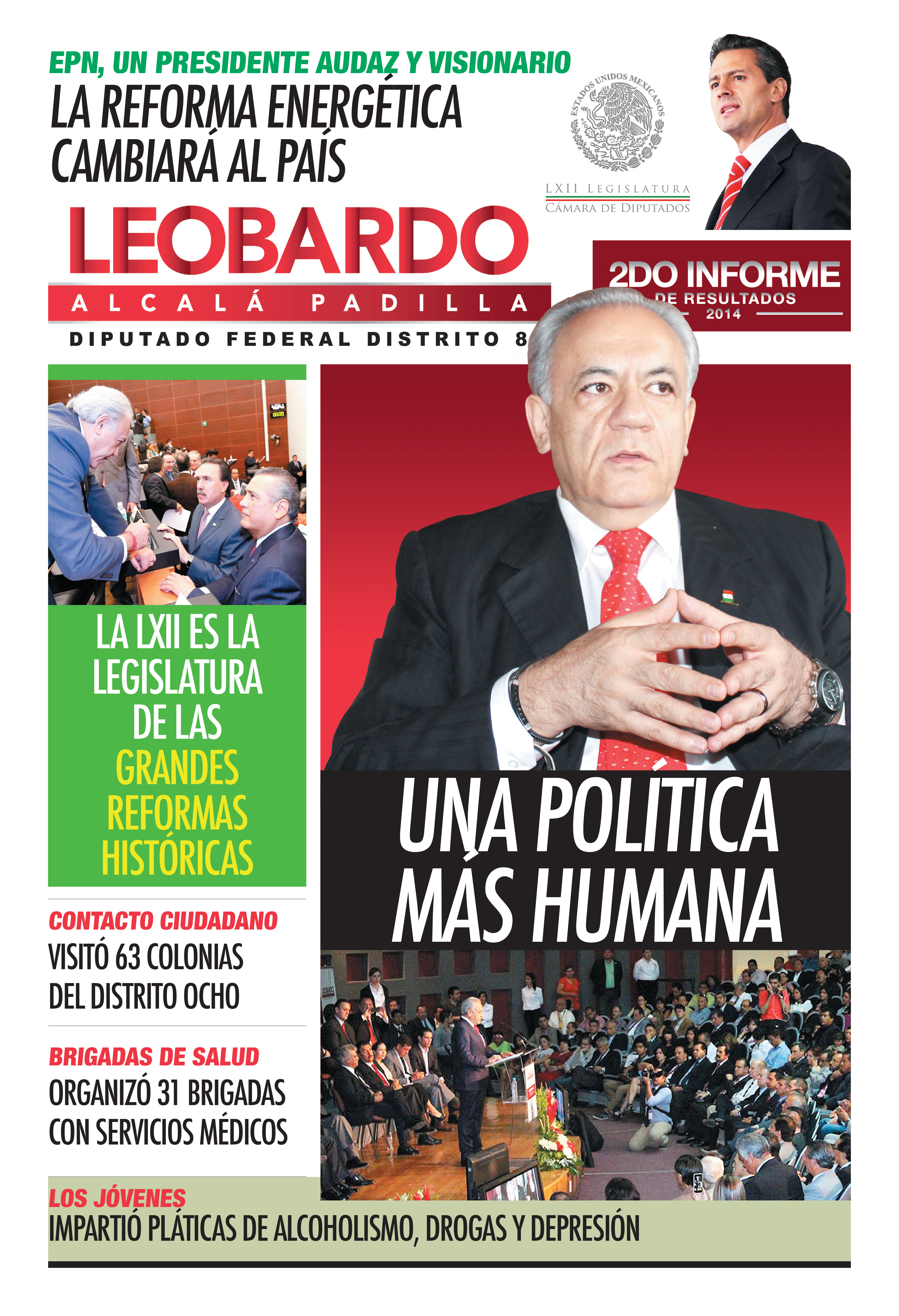 PERIODICO LEOBARDO ALCALA