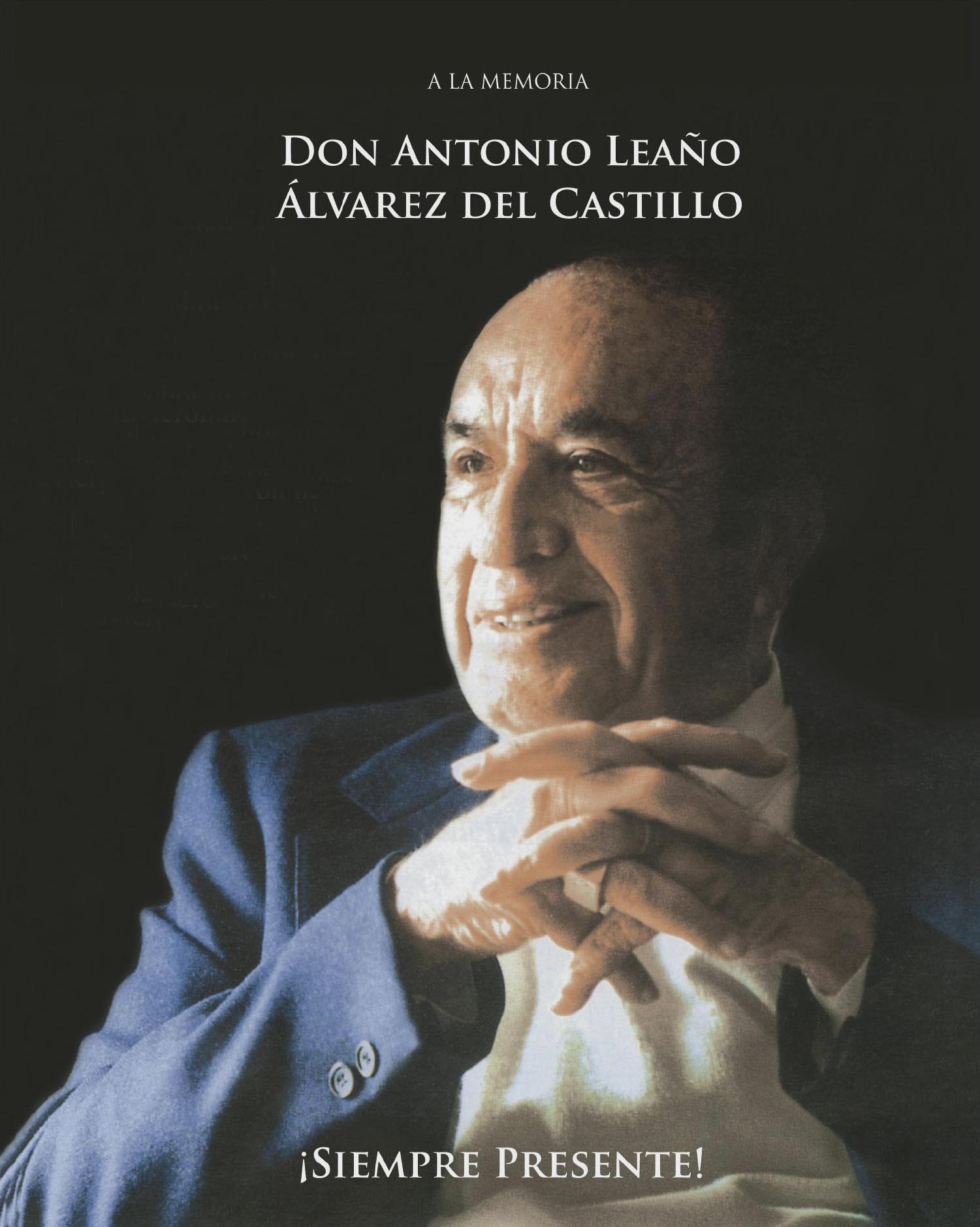 REVISTA POSTUMA DON ANTONIO LEAÑO