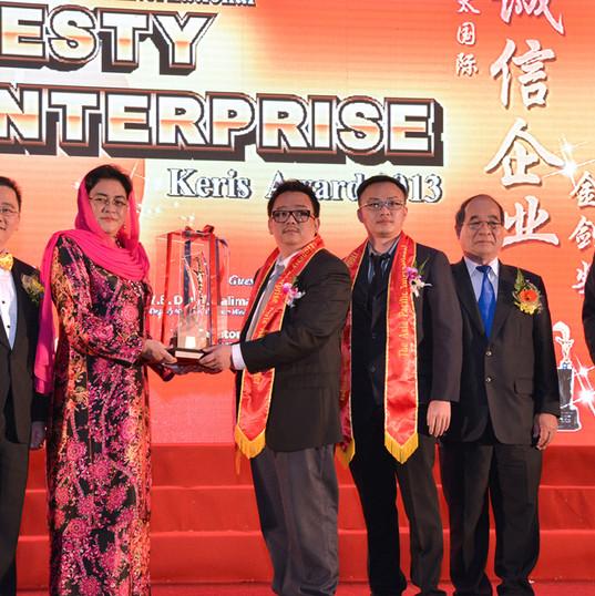 The 12th Asia Pacific International Honesty Enterprise Keris Award 2014