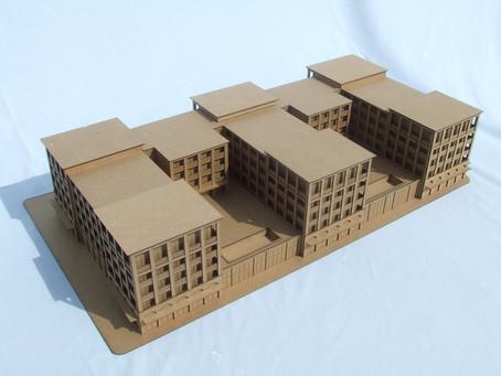 Laser Cut Architectural Study Model