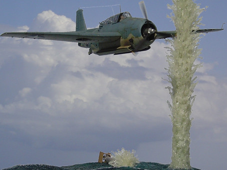 My Battle of Midway Tribute: TBF-1 Avenger Diorama