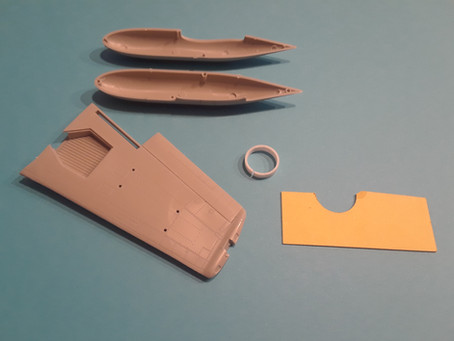 Michael's Model Building Tips: Kitty Hawk 1/48 F2H-2 Banshee Wing Tip Tanks…We're Gluing Them on