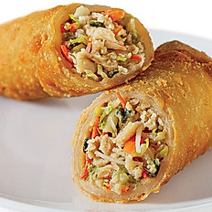 Shrimp and Pork Egg Rolls (2 Rolls)