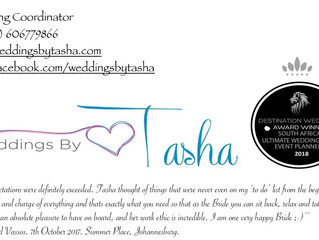Weddings By Tasha Look Book