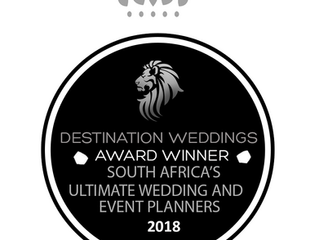 Destination - Weddings Award!!