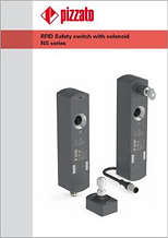 RFID Safety switch with solenoid NS seri