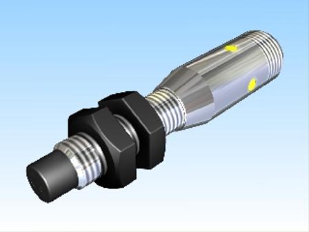 Induktīvais devējs Pulsotronic KJ3-M8MN58-DPS-V2