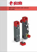 RFID Safety switch with solenoid NG seri