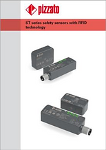 ST series safety sensors with RFID techn