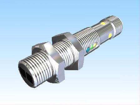 Reflex light probe Pulsotronic KORT300-M12MB60-DPS-V2-RT