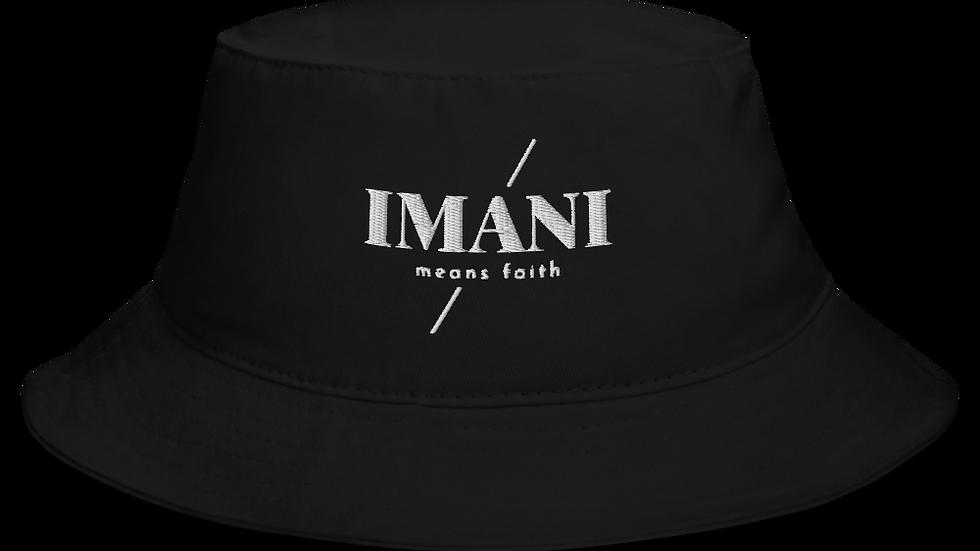 IMANI means FAITH Bucket Hat