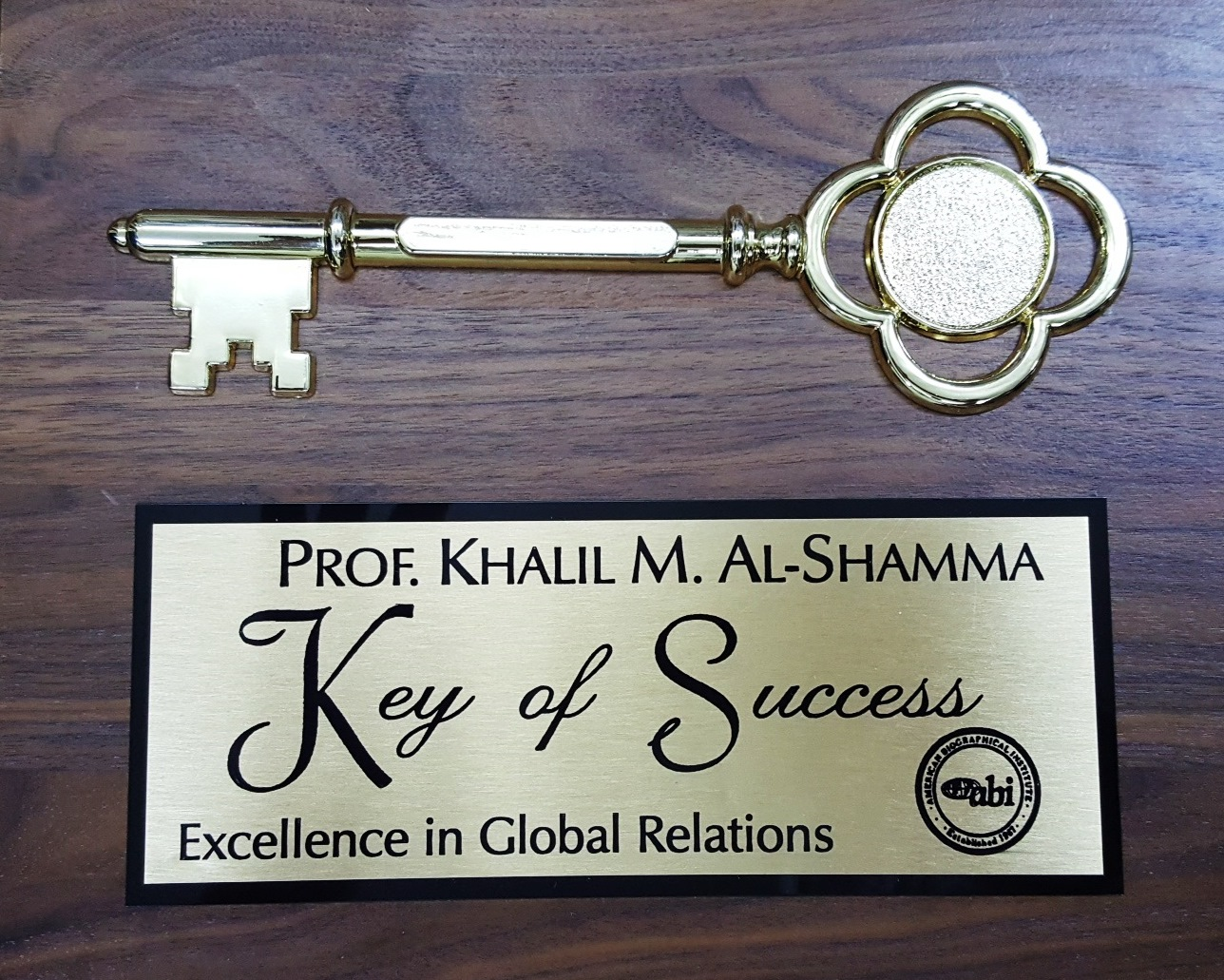 Keys of Success - Excellence in Global Relations