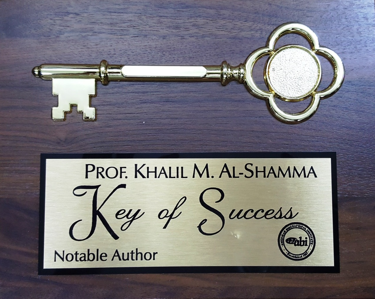 Keys of Success - Notable Author