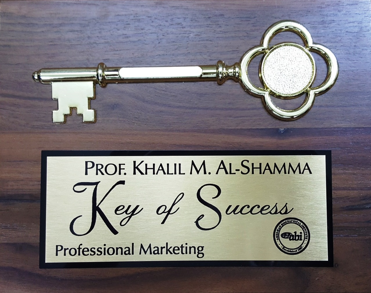 Keys of Success - Professional Marketing