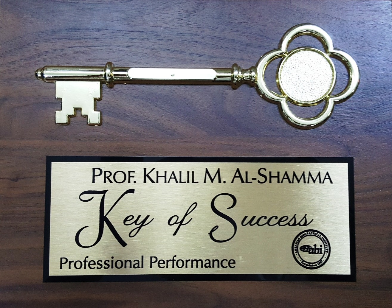 Keys of Success - Professional Performance