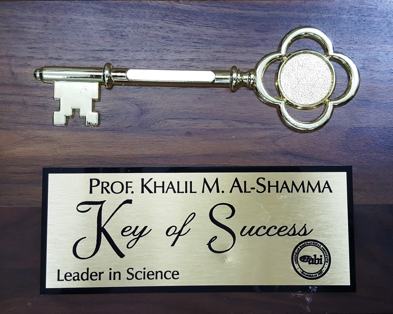 Keys of Success - Leader in Science