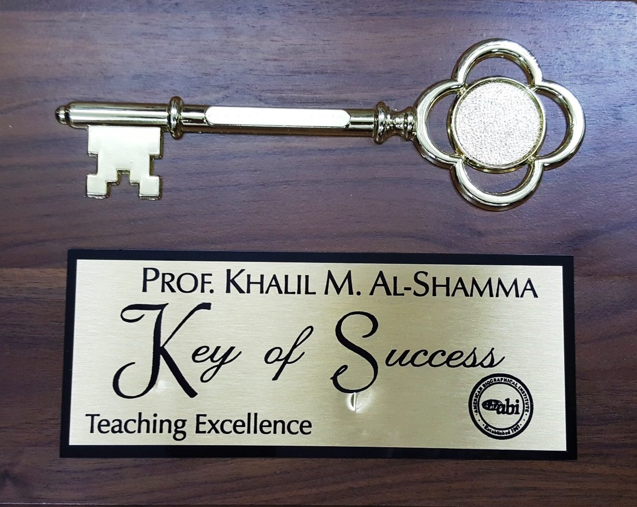 Keys of Success - Teaching Excellence