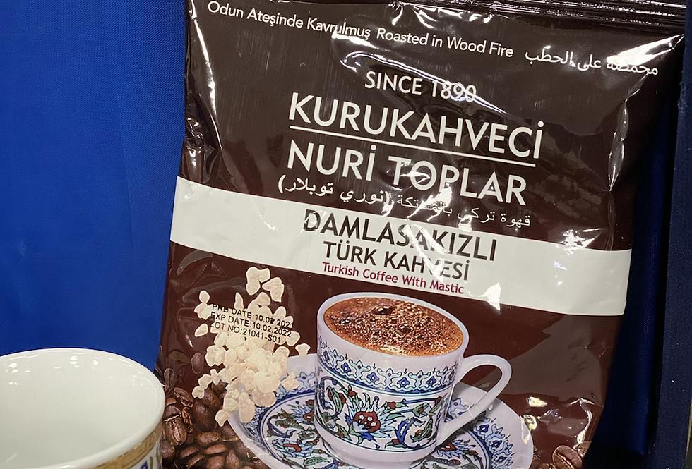 Kurukahveci Nuri Toplar Damlasakızlı Türk Kahvesi