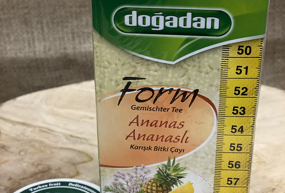 Doğadan Ananaslı bitki çayı