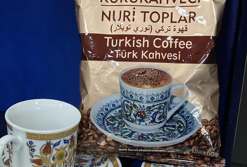 Kurukahveci Nuri Toplar Türk Kahvesi