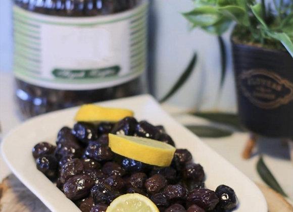 Yağlı sele zeytini el yapımı