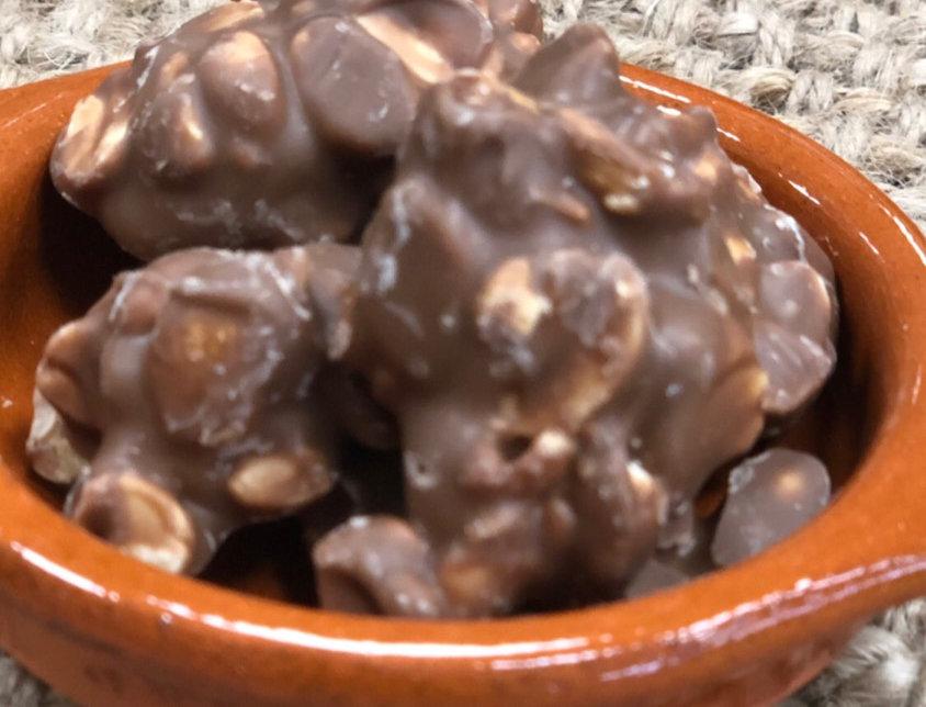 Sütlü çikolatalı fıstık