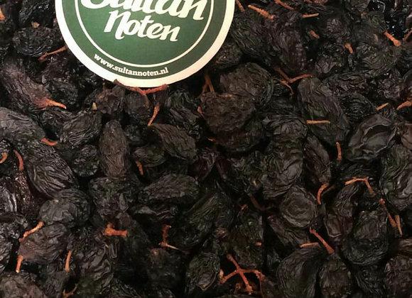 Çekirdekli siyah salkım üzüm / Zwarte Druiven aan tak naturel 1 kilo