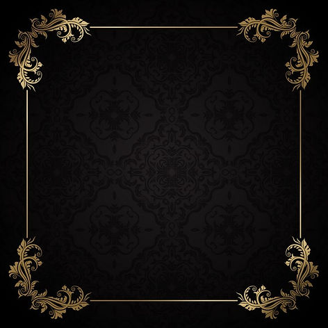 elegant-golden-frame-on-a-black-backgrou