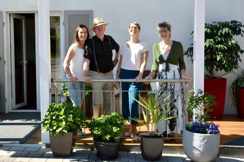Opa Lothar mit den Heyer Ladies