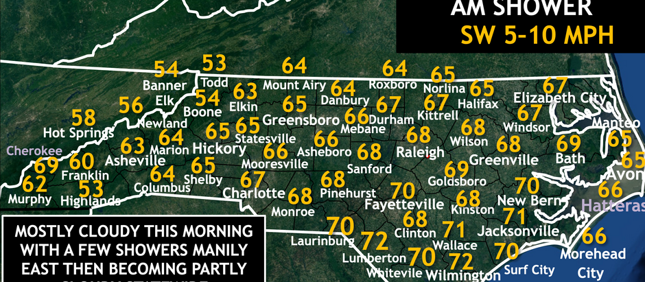 Mild Sunday ahead, before another soaking rain moves in