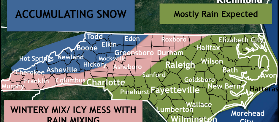 INCREASING ICE THREAT WITH SNOW