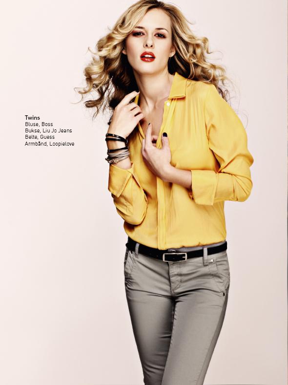 Model Vero Jack IN Magazine