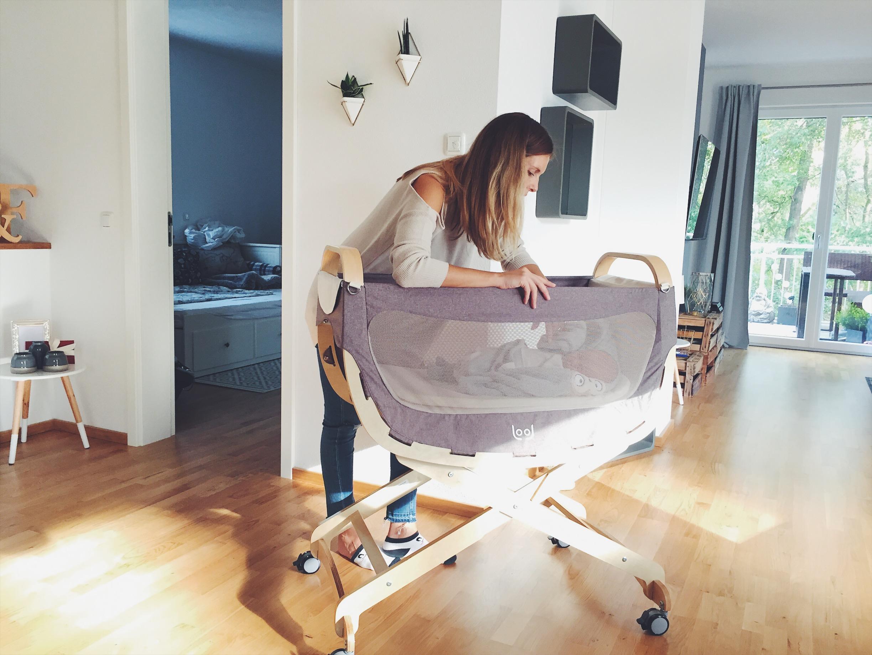 Babys schlaf mit unserer lool vero jack german fashionmodel munich