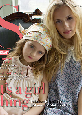 S Magazine Cover Vero Jack Model